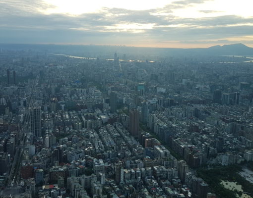 The urban center of Taipei City (Giles B. Sioen, 2019)