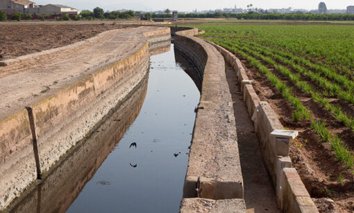 Farmers have cooperatively managed irrigation canals like this one in Valencia for more than 1,000 years. Credit: Jason Reblando.