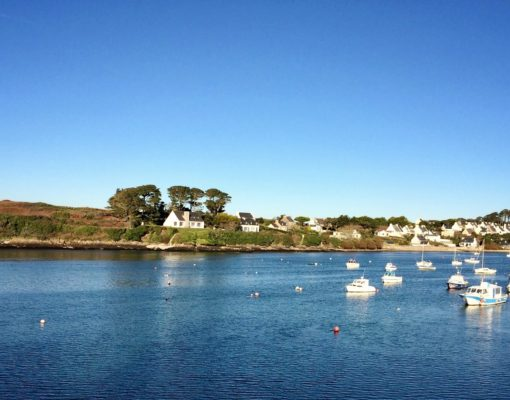 The Iroise Marine Natural Park in the Brittany region of France.